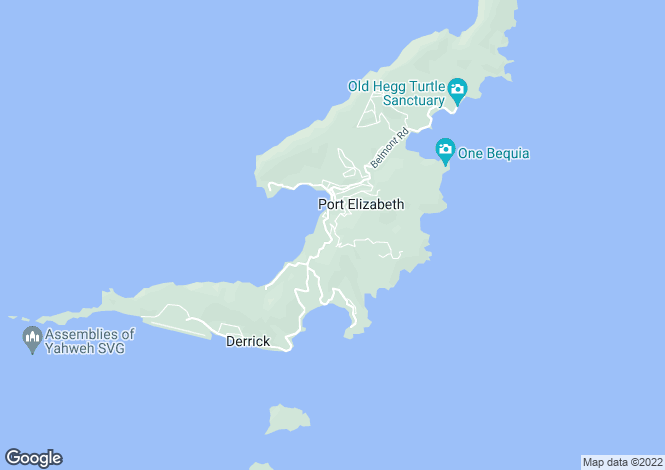 Map for Belmont House - Bequia, Belmont