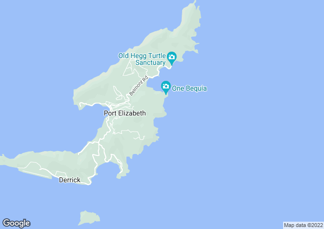Map for Sweet Wind House 4.5 Acres - Bequia, Hope Bay