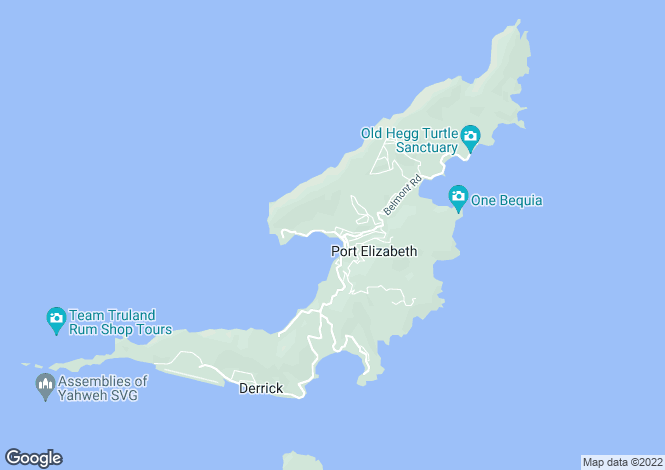 Map for The Timber House - Bequia, Ocar