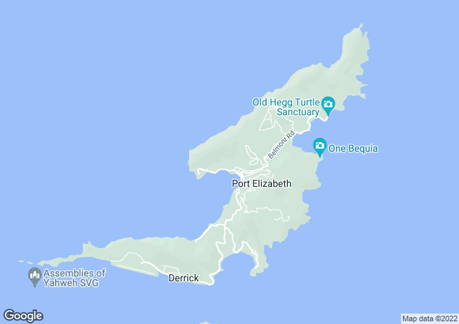 Map for Admiralty Bay View Land - Bequia, Ocar