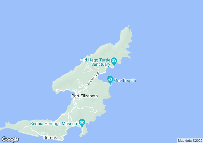 Map for Balliceaux House - Bequia, Spring