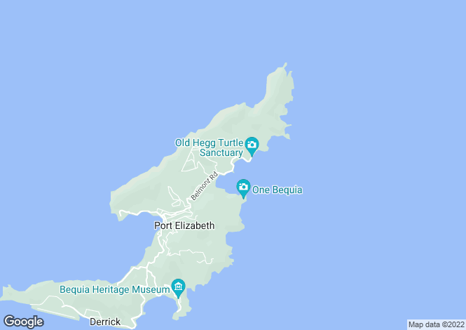Map for Jamdown - Bequia, Crown Point