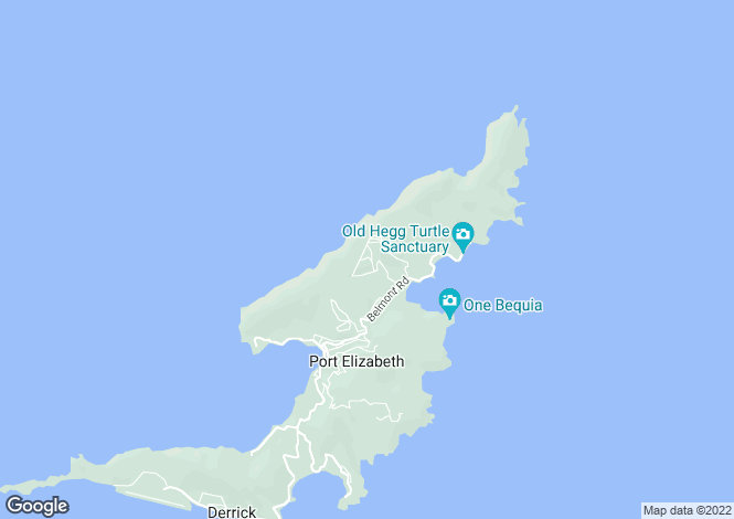 Map for Seacliff - Bequia, Spring