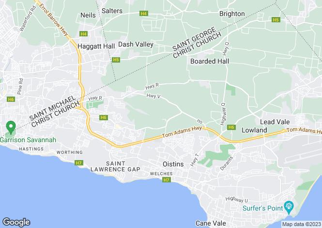 Map for Christ Church, Bennatyne