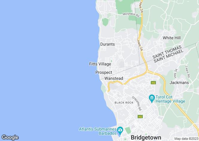 Map for Prospect, St James