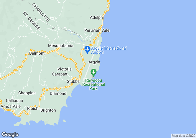 Map for Mount Pleasant Land Lot 25 - Saint Vincent, Mount Pleasant