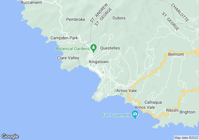 Map for Kingstown