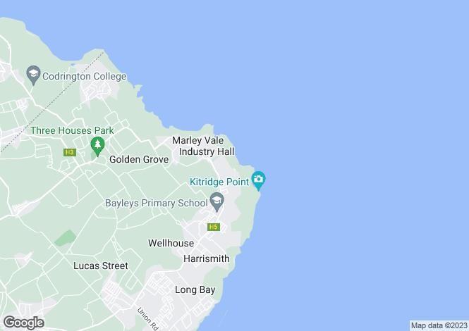 Map for St Philip, Merricks