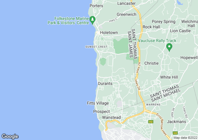 Map for Waterside Apartments, Paynes Bay, St. James, Barbados