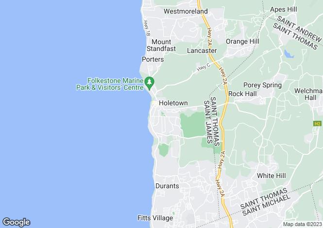 Map for Sunset Crest, St James