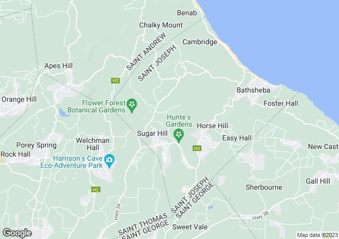 Map for Tree House, Chimborazo, St. Joseph, Barbados