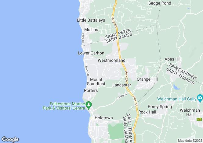 Map for Royal Villa 19, Westmoreland, Royal Westmoreland, St. James