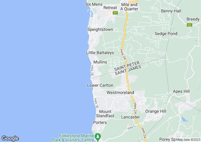Map for Schooner Bay 114, Speightstown, St. Peter, Barbados