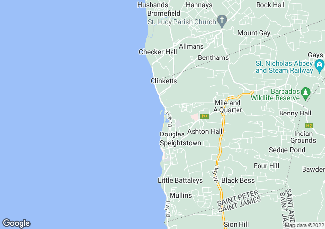 Map for Maynards, St Peter