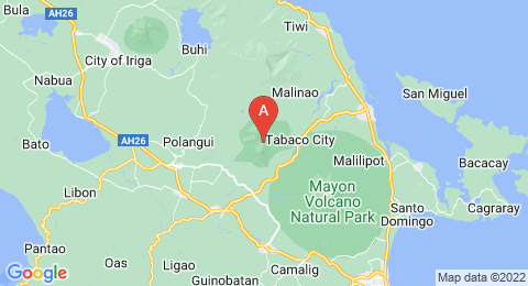 map of Mount Masaraga (Philippines)