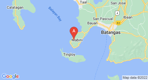 map of Mount Panay (Philippines)