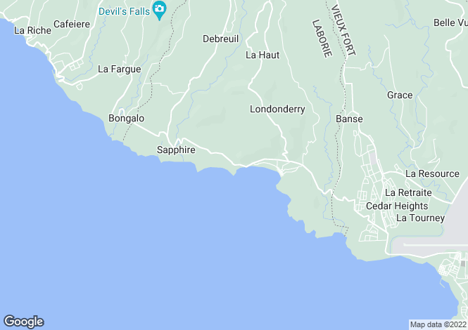 Map for Laborie