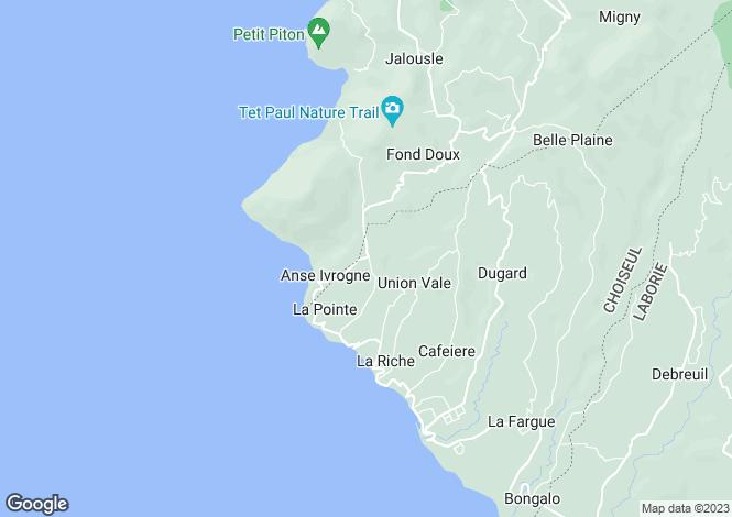 Map for Choiseul