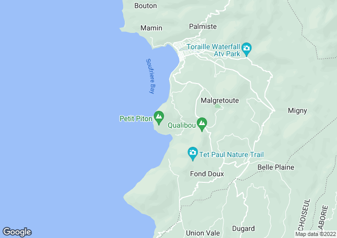 Map for Rodney Bay, St Lucia