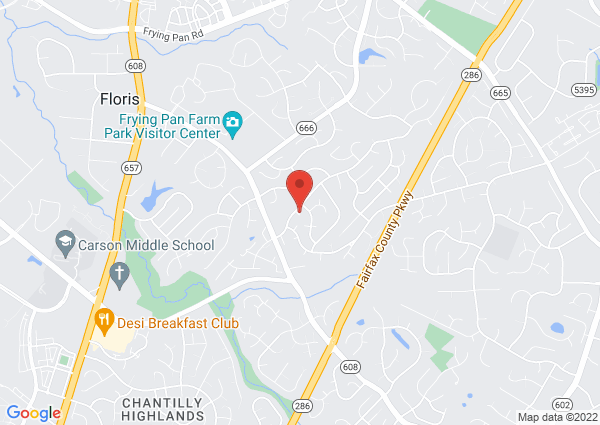 Map of 13111 New Parkland Dr, Herndon, VA 20171, United States