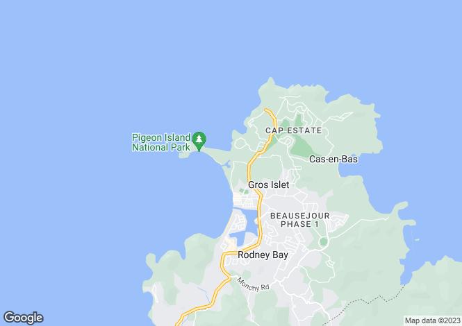 Map for Cap Estate