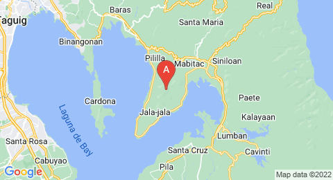 map of Mount Sembrano (Philippines)