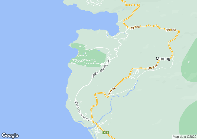 Map for Olongapo