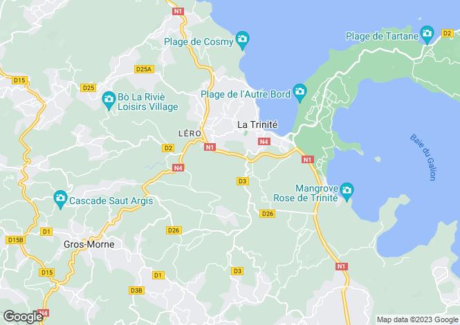 Map for La Trinité