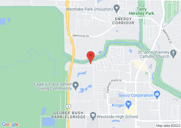 Map of 14300 Briarhills Pkwy, Houston, TX 77077, USA