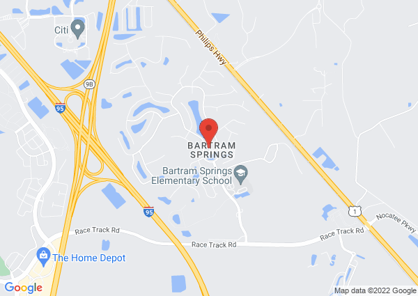 Map of 14530 East Cherry Lake Drive, Jacksonville, FL, USA