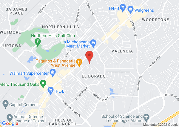Map of 14620 Prima Vista Street, San Antonio, TX 78233, USA