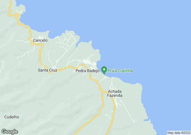 Map for Pedra Badejo