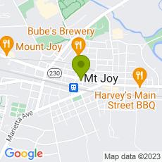 Staticmap?center=16+East+Main+Street%0D%0AMount+Joy+PA%2C+17552&zoom=14&size=230x230&key=AIzaSyAeTspGNxF9omrAnDm7RMuAOzLtrgwleEY&markers=color:green|16+East+Main+Street%0D%0AMount+Joy+PA%2C+17552&sensor=false