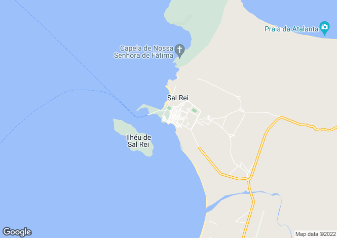 Map for Sal Rei