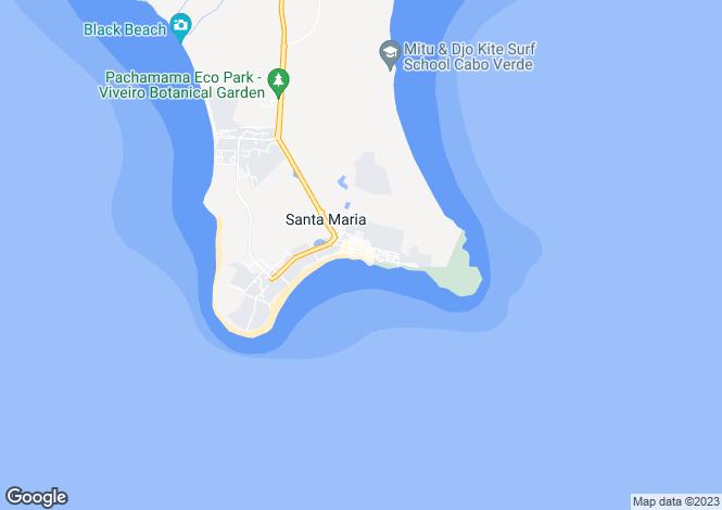 Map for Santa Maria