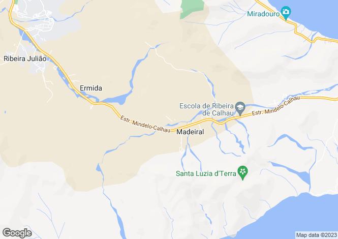 Map for São Vicente