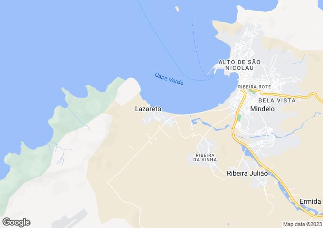 Map for Mindelo