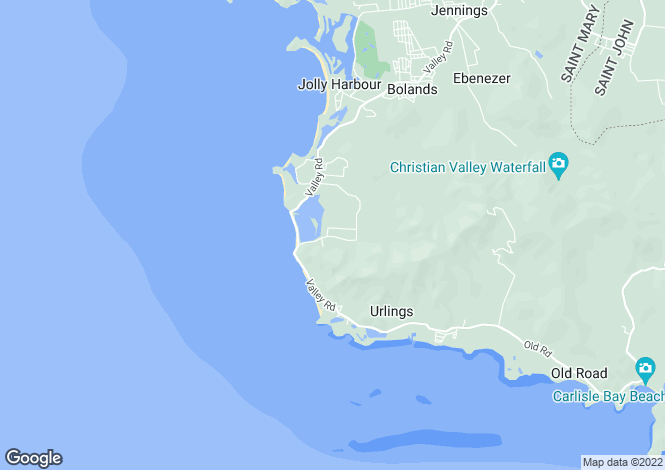 Map for Valley Church
