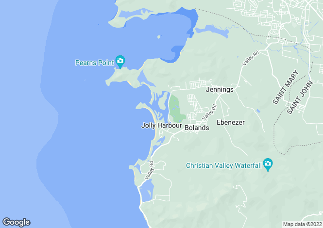 Map for Jolly Harbour
