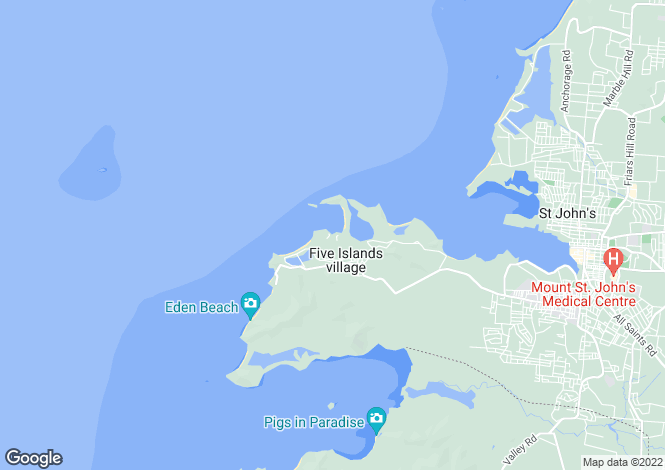 Map for Galley Bay Heights