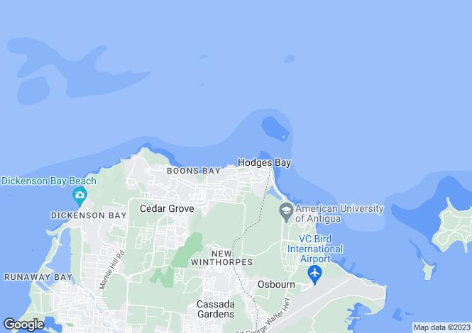 Map for Cedar Grove