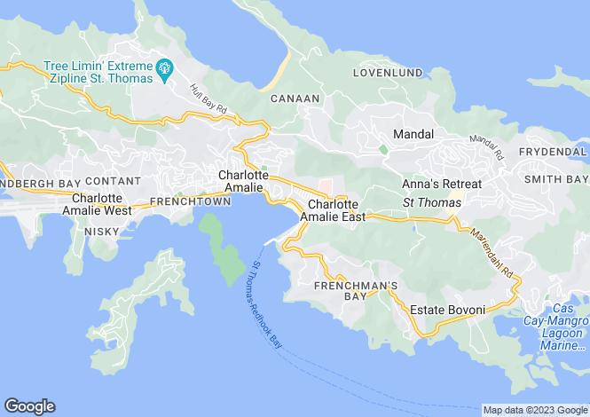 Map for British Virgin Islands