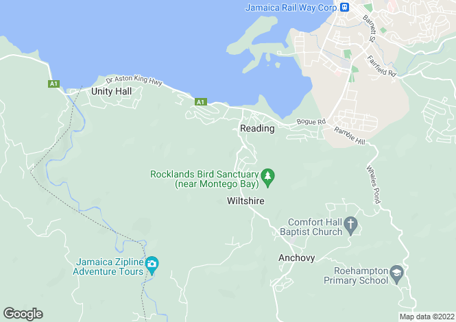 Map for Montego Bay, St James