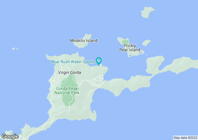 Map for Tortola