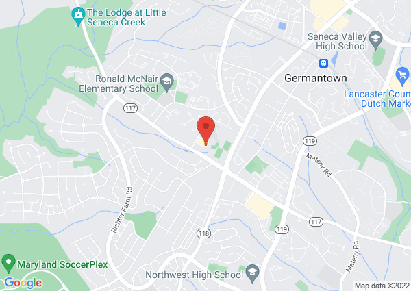 Map of 18905 Kingsview Road, Germantown, MD 20874, United States