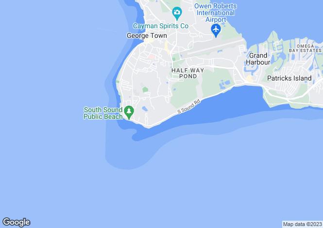 Map for Vela Phase II, Grand Cayman
