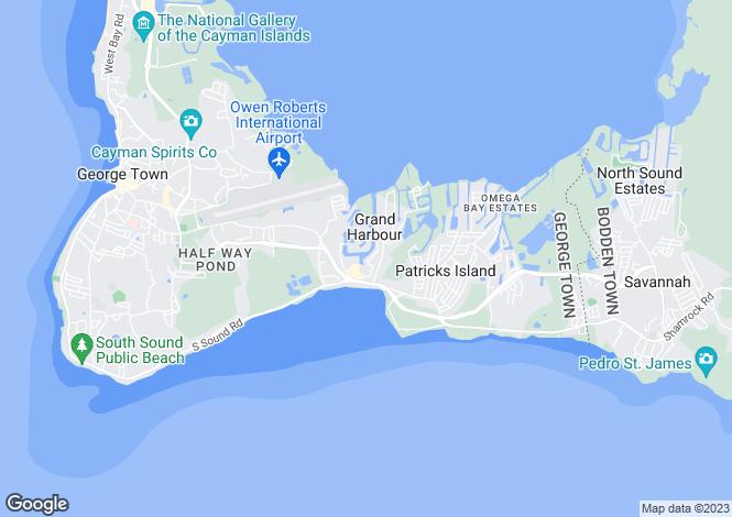 Map for Villa Nina, Grand Harbour, Prospect