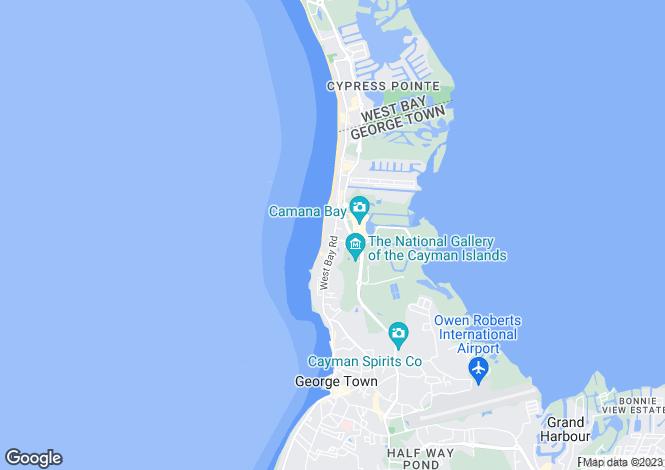 Map for Grand Hyatt Beach Resort