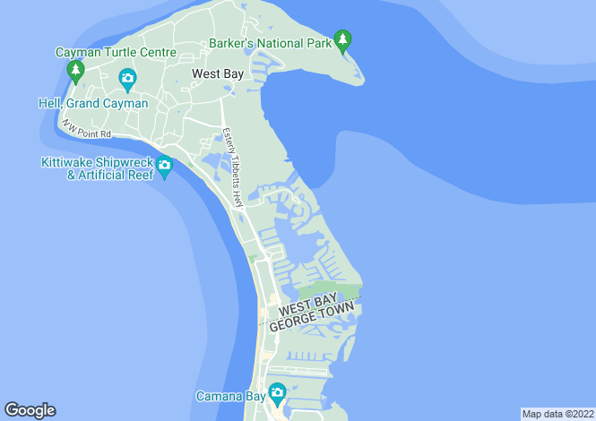 Map for The Residences Of Stone Island, Grand Cayman, Cayman Islands