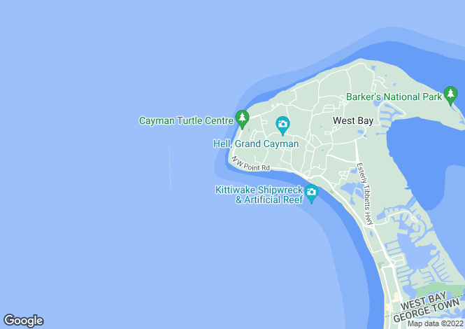 Map for West Bay